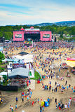 Sziget music fest Stock Photography
