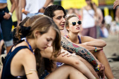 Sziget Summer Music Festival Budapest Hungary Stock Photography