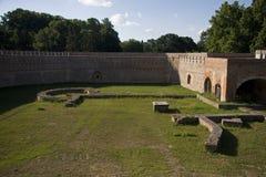 Szigetvar城堡在匈牙利 图库摄影