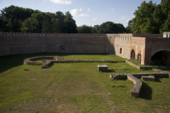Szigetvar slott i Ungern arkivbild
