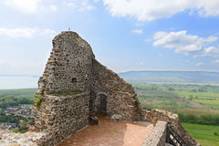 Szigliget fortress. Veszprem county. Hungary Royalty Free Stock Photography