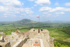 Szigliget slott Veszprem region hungary Arkivbilder