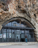 Sziklatemplom church in a cave in Budapest Royalty Free Stock Photography
