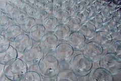 szkła dużo wine Obrazy Royalty Free