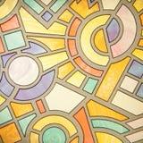 szkło abstrakcjonistyczny wzór Obrazy Royalty Free