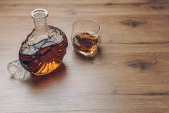 Szkło bourbonu whisky zdjęcie stock