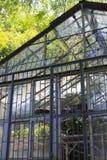 Szkło dom wanshi ogród botaniczny Obrazy Royalty Free