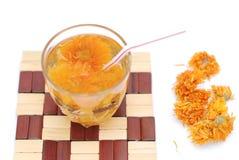 Chryzantemy herbata Obraz Royalty Free