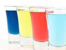 szkło kolorowy strzał Obraz Stock