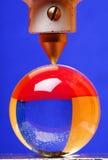 szkło kulowego ciśnienia Zdjęcia Royalty Free