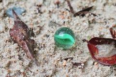 Szkło marmur piasek zdjęcia royalty free