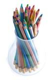szkło ołówek obrazy stock