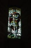 szkło okna plam pomnikowy Wallace zdjęcia royalty free