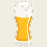 Szkło piwo Fotografia Royalty Free