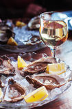 Szkło piwo z wysuszoną ryba Lekki piwo z dennym Bullhead Goby i piwo na ciemnym tle Zdjęcie Stock
