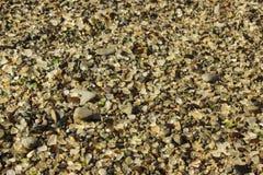 Szkło plaża, fort Bragg, Kalifornia obrazy royalty free