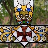 szkło plamiący Zdjęcia Royalty Free