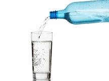 szkło podsadzkowa woda obraz stock