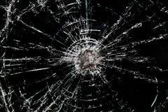 szkło rozbijający Zdjęcia Royalty Free