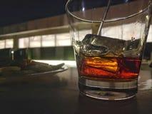 Szkło rum obrazy stock