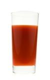 szkło soku świeże pomidory Zdjęcia Royalty Free