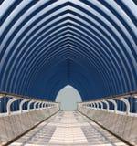 szkło tunel Zdjęcia Stock