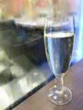 Szkło Włoski Iskrzasty Biały wino Zdjęcie Stock