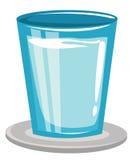 Szkło woda royalty ilustracja