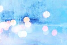 Szkło zakrywający z lodem zdjęcia stock