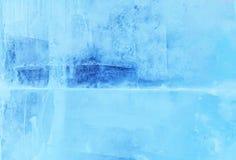 Szkło zakrywający z lodem obrazy royalty free