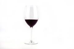 Szkło Zgłębiam - czerwone wino Zdjęcia Stock