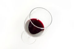 Szkło Zgłębiam - czerwone wino Obraz Stock