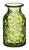 szkło zieloną wazę Zdjęcia Stock