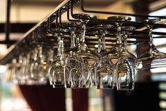 Szkła dla wina zdjęcie royalty free