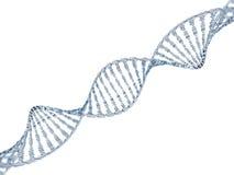 Szkła DNA model 3d Zdjęcie Stock