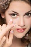 szkła kontaktowe Fotografia Stock
