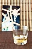 Szkło alkohol Zdjęcia Stock