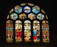 szkło creche oznaczane Obrazy Stock