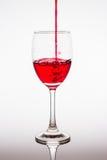 Szkło czerwone wino Zdjęcie Royalty Free