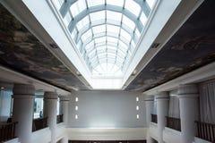 Szkło dach w budynku Zdjęcia Royalty Free