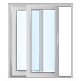 szkło drzwiowi klingeryty Ilustracja Wektor