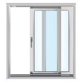 szkło drzwiowi klingeryty Royalty Ilustracja