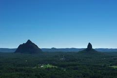 Szkło gór Domowy park narodowy w Australia Fotografia Stock