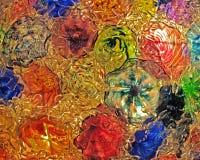 Szkło kolory obrazy stock