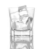 szkło lód Obraz Royalty Free
