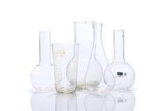szkło laboratoryjne laboratorium Obrazy Royalty Free