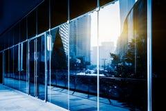 szkło nowoczesny budynek Zdjęcie Royalty Free
