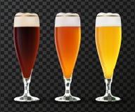 Szkło piwny wektor Zdjęcie Stock