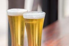 Szkło piwo Fotografia Stock