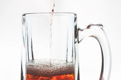 Szkło piwo Zdjęcia Stock